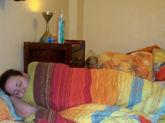 Hotel Casona les Pleiades: Still tired.