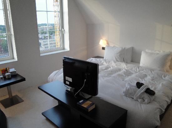 Inntel Hotels Amsterdam Zaandam: Suite im obersten Geschoss (12)