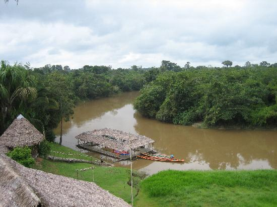 Iquitos, Peru: Amazon Rainforest Resort - from Tower