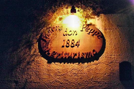 Podere Don Peppe 1884: Eingangsschild