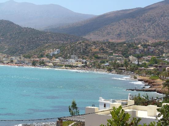Creta Solaris Hotel Apartments: Bucht von Stalis