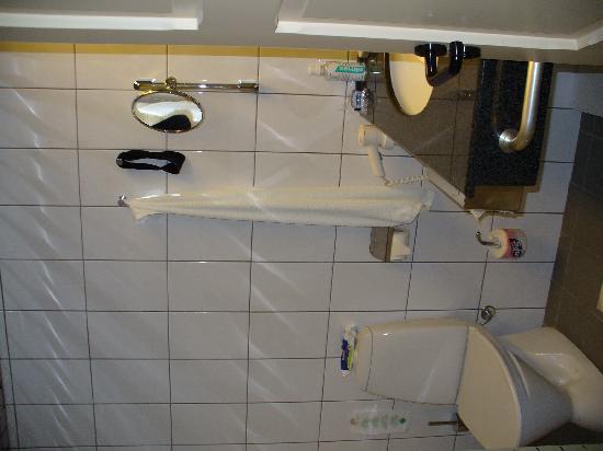 Creta Solaris Hotel Apartments: Badezimmer