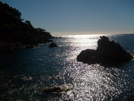 ALEGRIA San Juan Park: coucher de soleil sur la plage