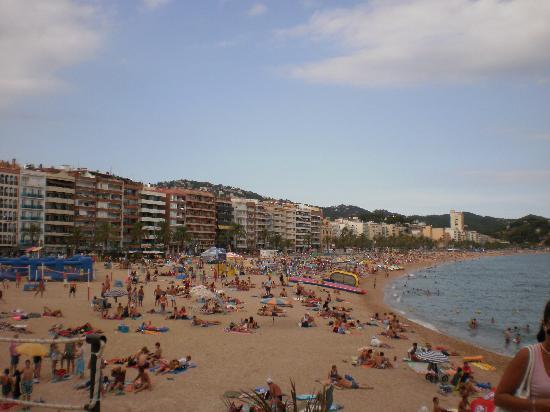 ALEGRIA San Juan Park: la plage de lloret de mar