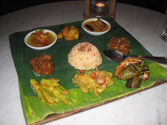 Temple Tree at Bon Ton: Malaysian special plate at Bon Ton