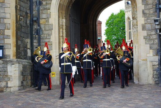 The Wee Waif: Changing the Guard at Windsor Castle