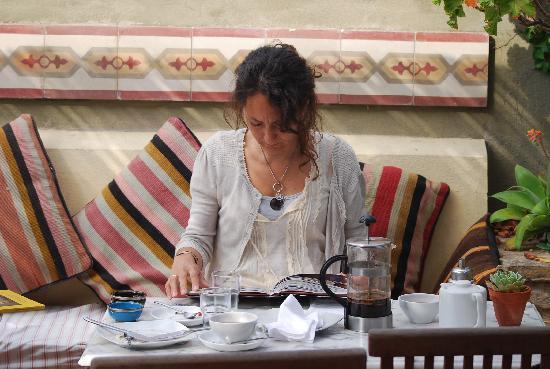 La Fonda Barranco: A colazione..
