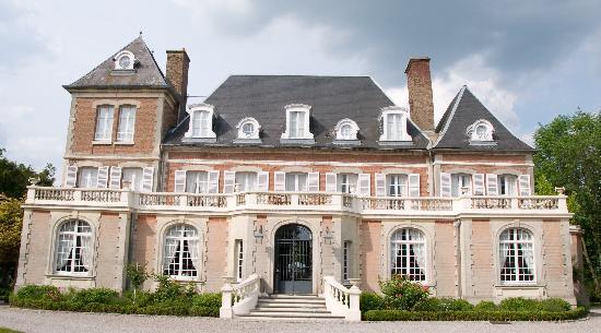 Chateau de Noyelles en Baie de Somme : front