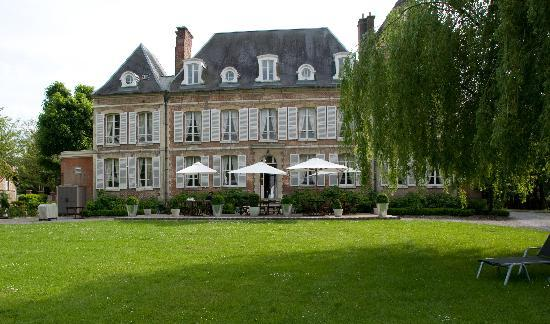 Chateau de Noyelles en Baie de Somme : back
