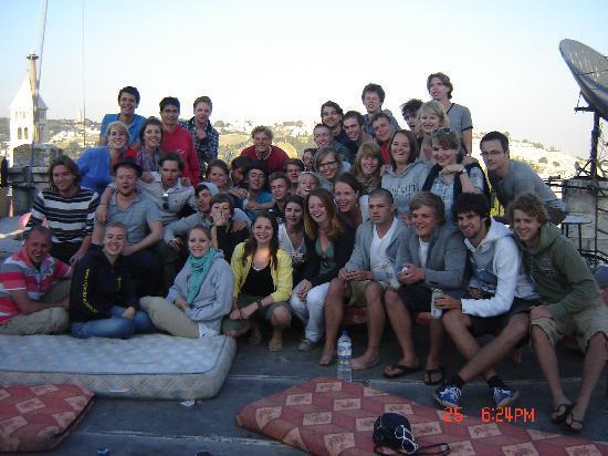 Petra Hotel & Hostel: Rooftop