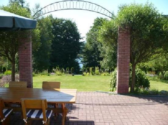 Kania Lodge: View.