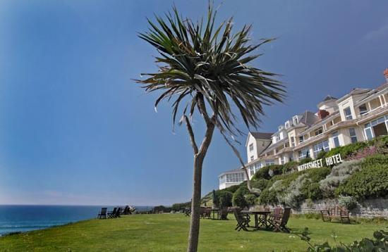 Watersmeet Hotel: Feels like Cote d'Azur!