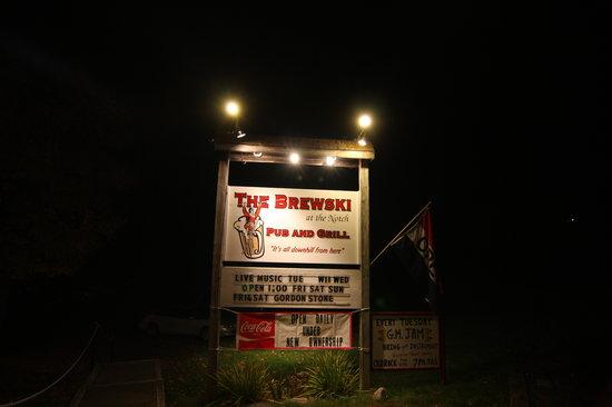 Night Time at The Brewski