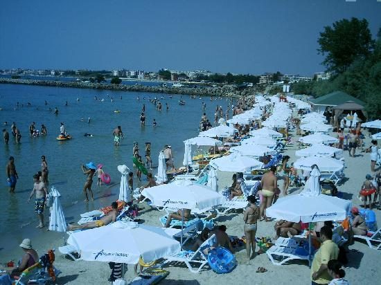 Sol Nessebar Palace: Private Beach