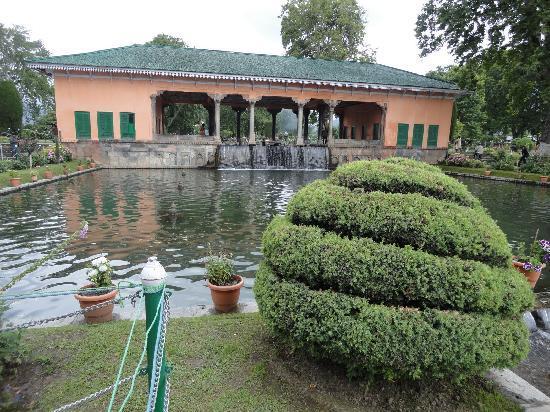 Cachemira, India: Nishat garden, Srinagar