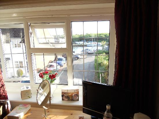 The Moorhen Bed & Breakfast: great view of river bure from room we were in