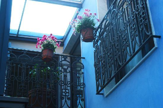 Rigel Hotel: HR Catania-Garden court-yard upper floor