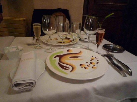 Phoebus Restaurant: Detalle mesa