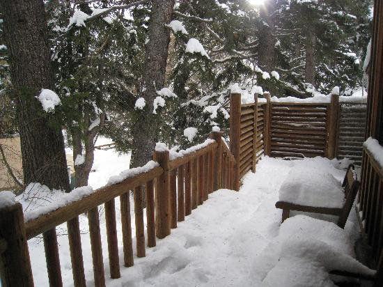 Sundance Resort: Back porch
