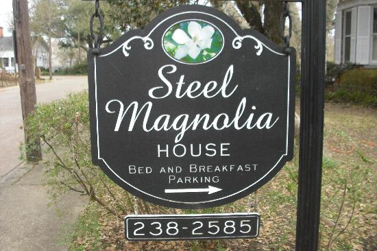 Steel Magnolia House Bed & Breakfast: Steel Magnolias House