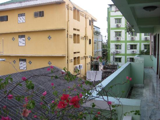 Phra Arthit Mansion: view from balcony