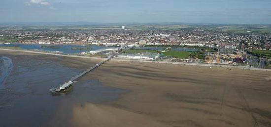Southport, UK: Pier