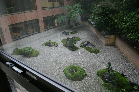 Hyatt Regency Kyoto: Beautiful zen garden.