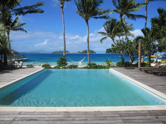 Bora Bora Beach Resort : Pool