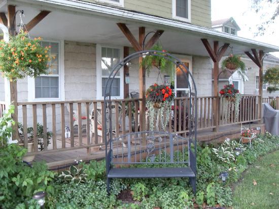 Village Guest Suite: Porch of the Suite on Floor 1