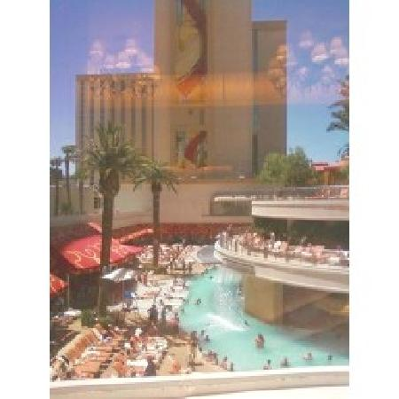 Golden Nugget Hotel: Window view from buffet