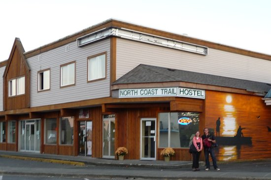 North Coast Trail Backpacker's Hostel : The front of North Coast Trail Backpackers Hostel