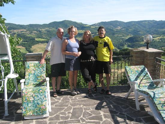 La Terrazza del Subasio: our last morning