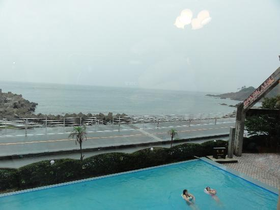 Boyokaku: 2階のレストランからの眺め