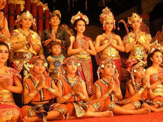 Pura Dalem Bentuyung Temple: 記念撮影も出来ます