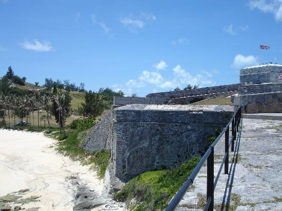 St. George, Bermuda: Walls of Fort St Catherine