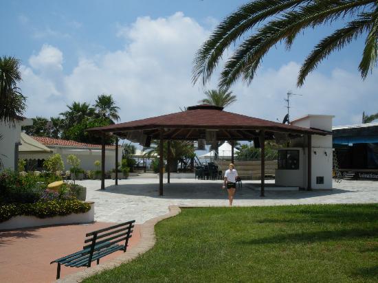 Villaggio le Palme: bellissima zona anfiteatro