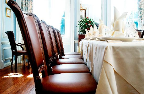 Queen Anne Restaurant: The Blue Room, private dining