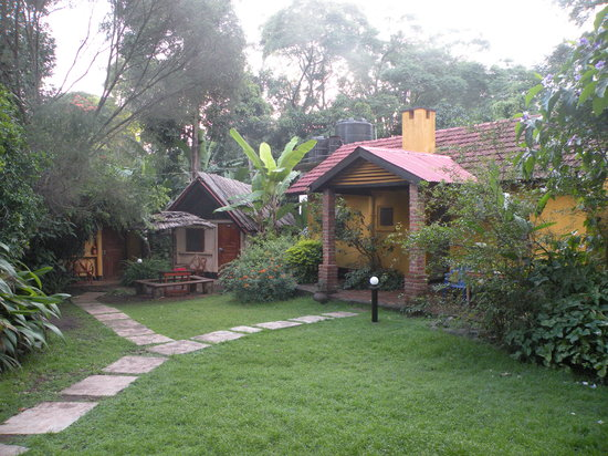 Outpost Lodge: a little bungalow in the lush gardens