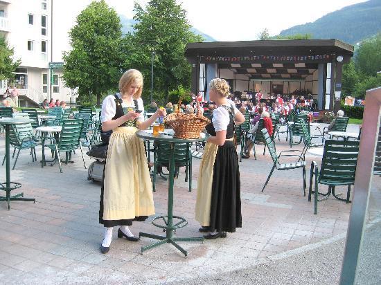 Bad Hofgastein, النمسا: Town square