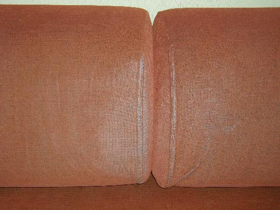 Holiday Village: grotty sofabed - the kids had to sleep here