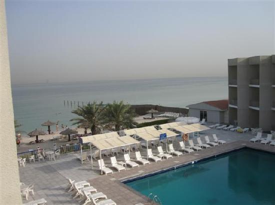 Sharjah Beach Hotel: blick vom zimmer