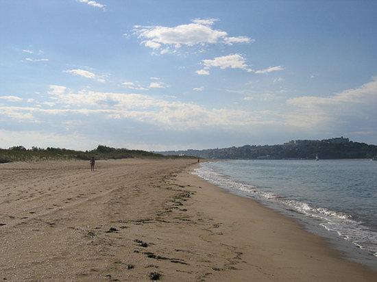 Santander, España: Playa de El Puntal