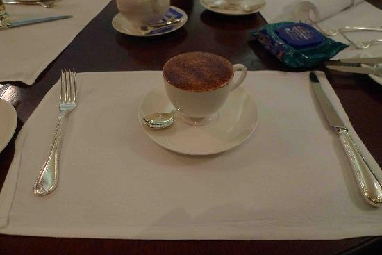 The Langham, Sydney: The nice coffee