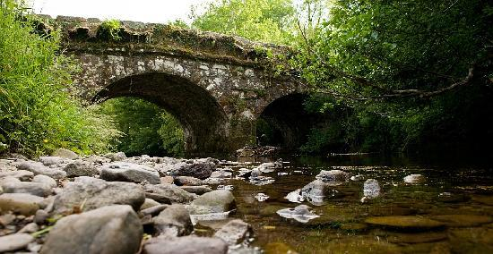 The Castle Country House : The river and the bridge