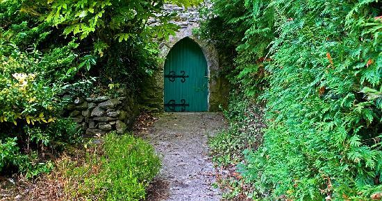 Dungarvan, Irland: The secret doorway!