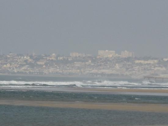 Bluewater Beachfront Guest House : View of Port Elizabeth from the beach
