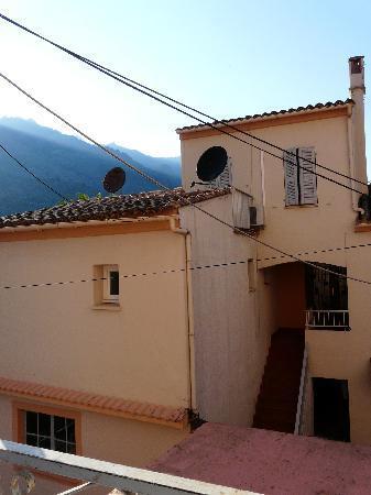 Hôtel de la Paix : Vue de la fenêtre