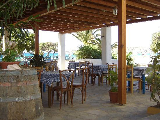 Koufonissi, Greece: The Taverna