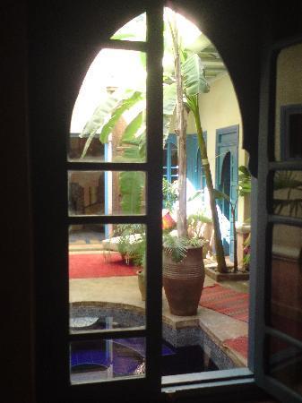Riad Spa Sindibad: vue de l'entrée