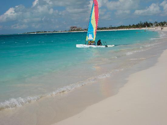 Seven Stars Resort & Spa: One of the resorts Hobie Cats